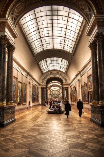 Louvre Museum, Paris. I'll go back one day and when I do, I'd like to come here for a whole day by myself.