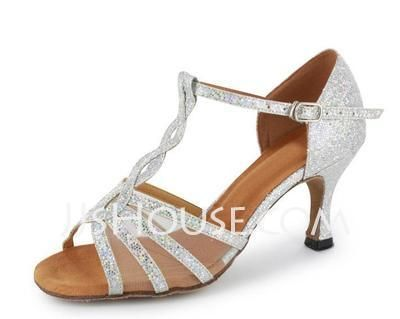 Dance+Shoes+-+%2429.99+-+Sparkling+Glitter+Heels+Sandals+Latin+Salsa+Dance+Shoes+With+T-Strap+%28053020380%29+http%3A%2F%2Fjjshouse.com%2FSparkling-Glitter-Heels-Sandals-Latin-Salsa-Dance-Shoes-With-T-Strap-053020380-g20380