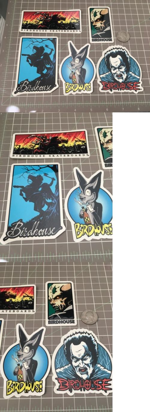 Stickers and Decals 47357: 5 Vintage Birdhouse Steve Berra Skateboard Sticker -> BUY IT NOW ONLY: $34.99 on eBay!