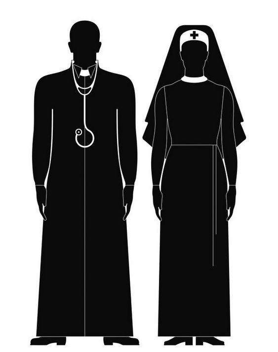 """Rys. Małgorzata Gurowska, artykuł """"Pod osłoną nocy"""" Moniki Tutak-Goll - Dziecko nie miało czaszki. Wiadomo było, że nie przeżyje. Zdecydowali się przerwać ciążę. Mieli do tego prawo. Ale legalna aborcja wyglądała tak, jakby robili ją w podziemiu."""