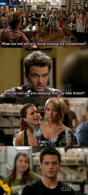 One Tree Hill - Chris Keller was such a trip in the later seasons!