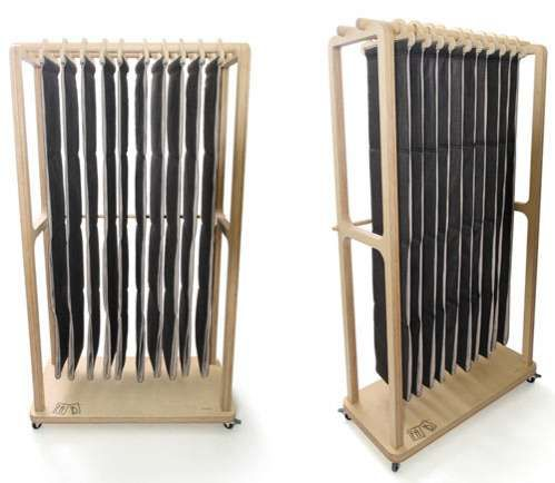 Dede Dextrous Design's Fa.B. Bookcase is Extremely Eco-Friendly #ecofriendly #homedecor trendhunter.com