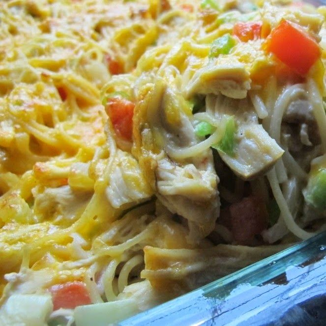 Creamy Chicken And Pasta Casserole | Dinner, Dips & More | Pinterest