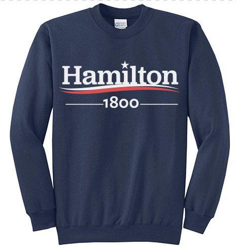 HAMILTON Musical ALEXANDER HAMILTON 1800 Election by YellowDogTees