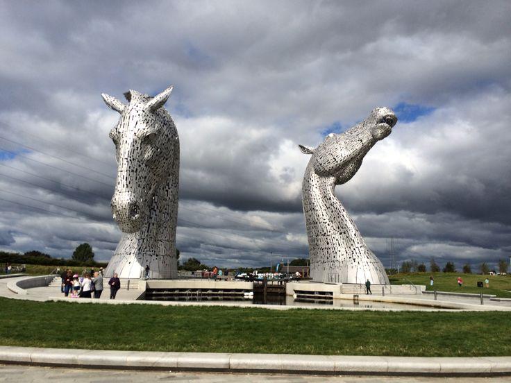 The Kelpies, Scotland