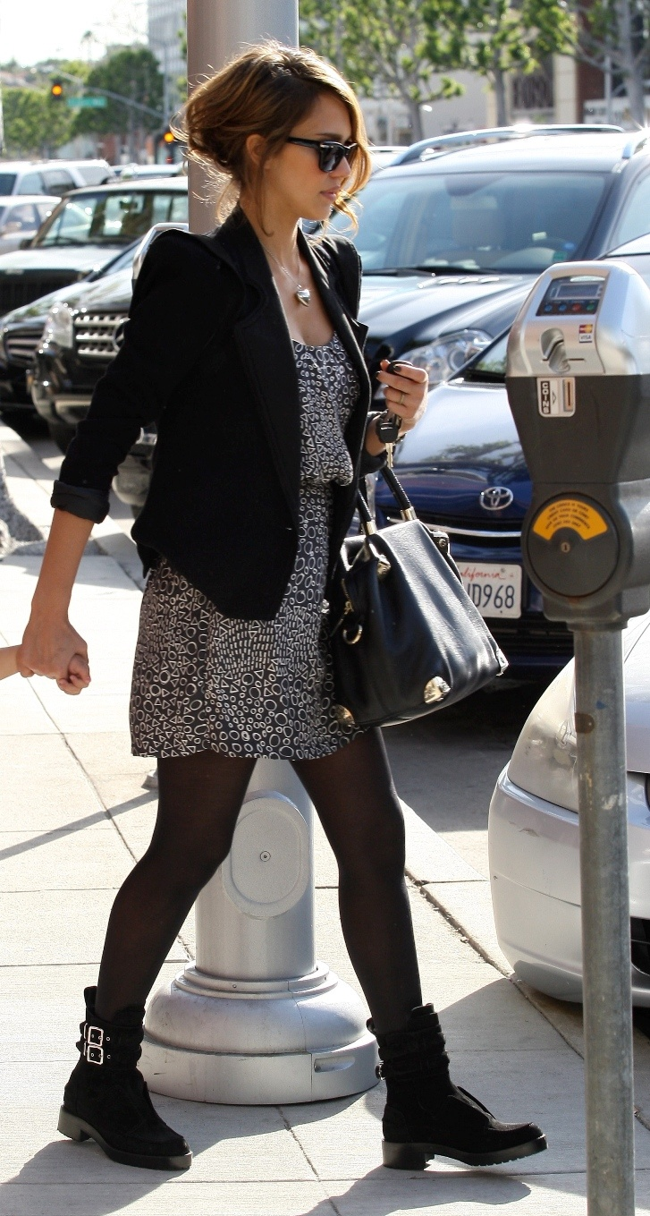 Jessica Alba in Beverly Hills