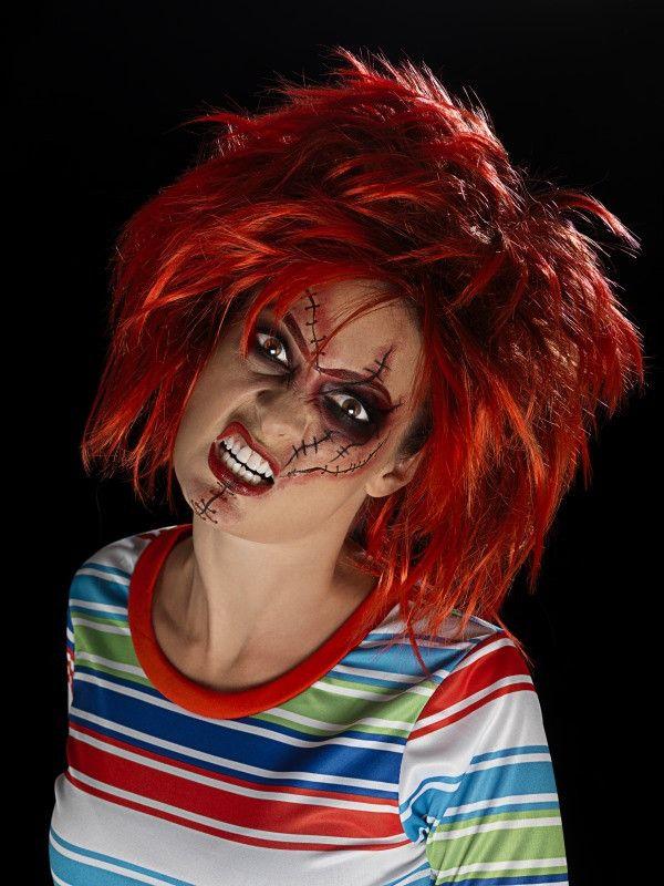 25+ beste ideeën over Chucky makeup op Pinterest - Horrormake-up ...