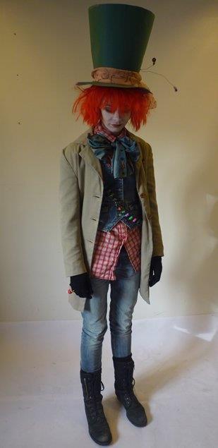 Alice in Wonderland The Mad Hatter Costume Fastalavn Halloween DIY