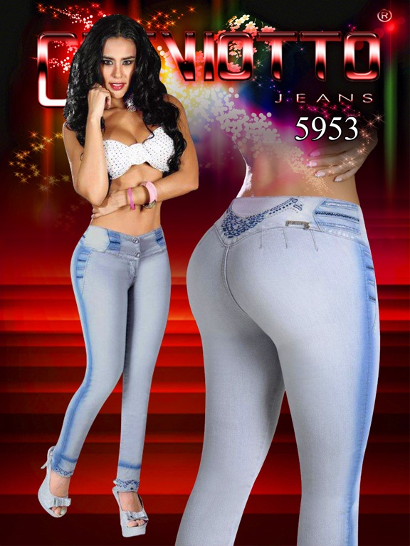 Super Sexy Colombian Style Butt lifting Skinny Leg stretch ...