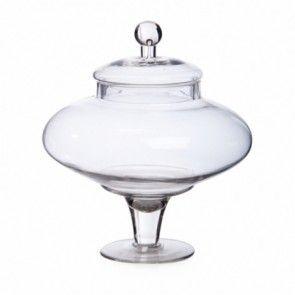 Glass Candy Jar GJ004
