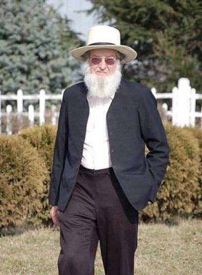 Elderly Amish man