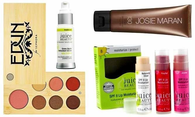 A few organic makeup brands...