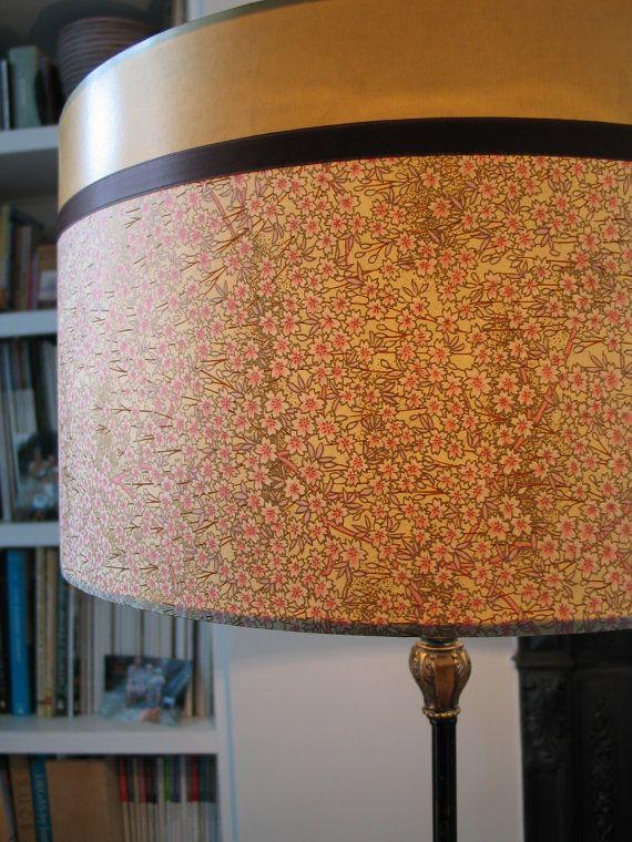 Large+Lampshade++Blossom+&+Gold++45cm+diameter+x+by+DesignsOnPaper,+£85.00