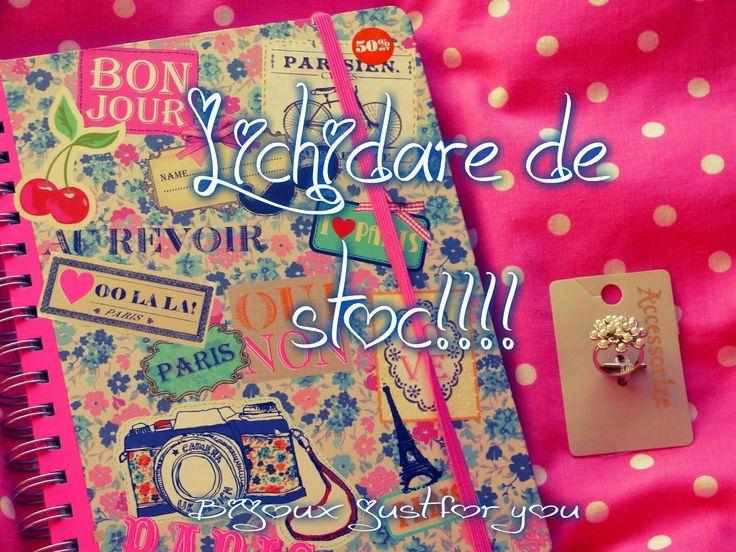 Handmade...just me: Lichidare de stoc!!!