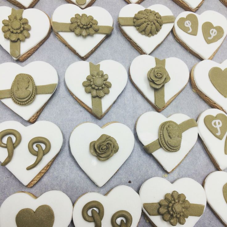 Wedding cookies!