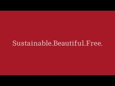"Now there is also such a thing as a ""sustainable font"": ""Ryman Eco - The world's most beautiful sustainable font"""