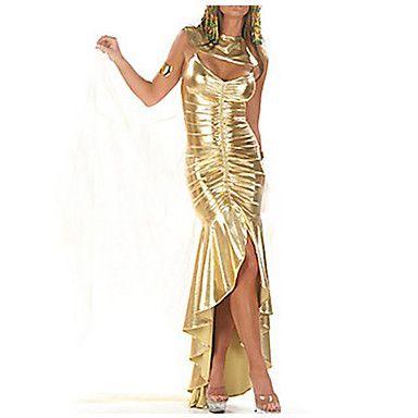 Des femmes sexy reine égyptienne d'or de costume de Halloween (3 Pieces) – CAD $ 20.67