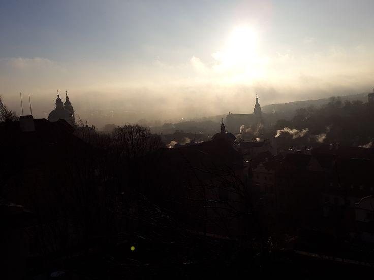 Ranní Praha