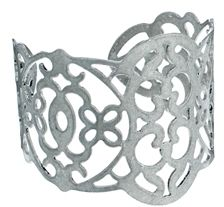 Asos Limited Edition Filigree Cuff Bracelet - Silver on shopstyle.co.uk