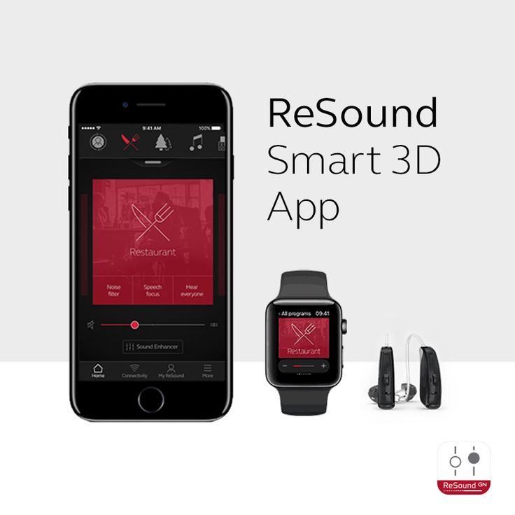 ReSound Smart 3D App  One-tap access to everything you need for a quick adjustment. Never miss an opportunity to be fully engaged in the world around you.