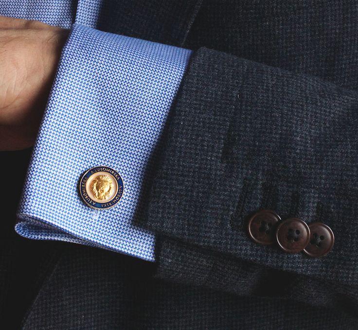 #menswear #businesscode #cufflinks #lioncufflinks #annalubomirska