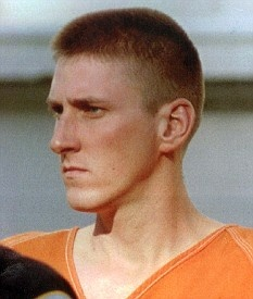 """Timothy McVeigh aka """"the Oklahoma City bomber"""" his homemade truck bomb killed 168 people, almost all civilians, including 19 children and infants. He was executed June 11,2001 by lethal injection."""