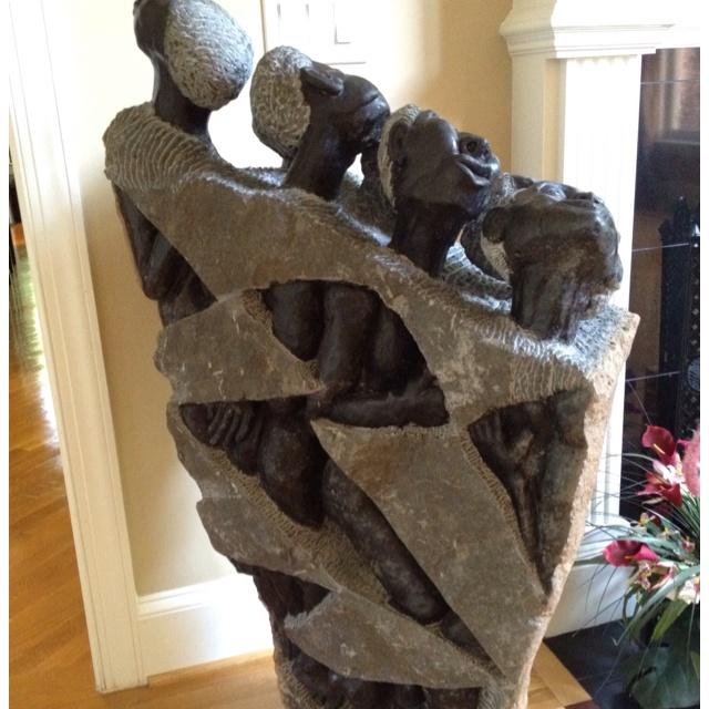 Living Room - Tears of Humanity Art Sculpture!
