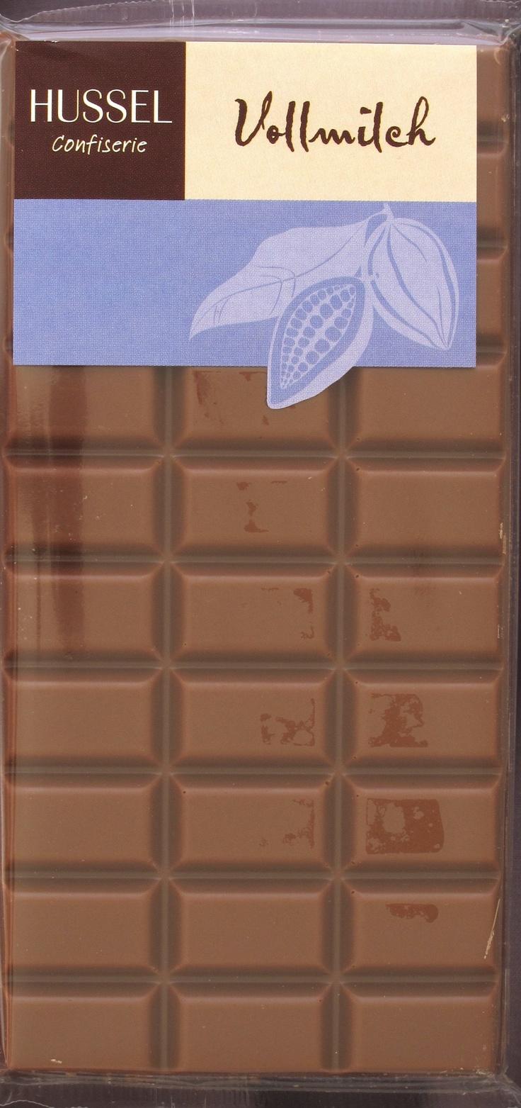 Hussel Vollmilch Schokolade