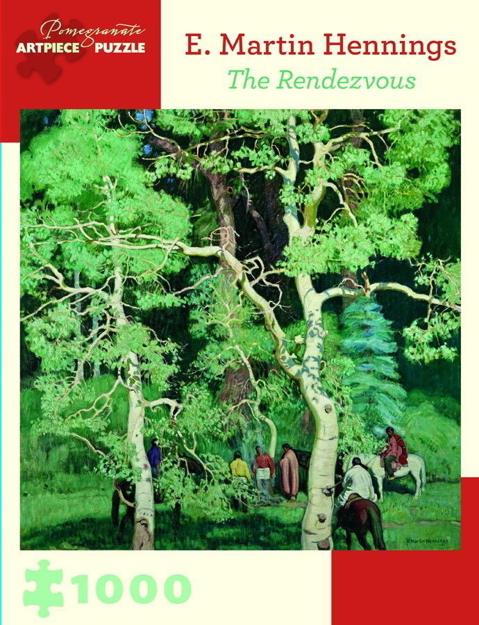 Pomegranate Jigsaw - The Rendezvous by E. Martin Hennings (1000 pieces)