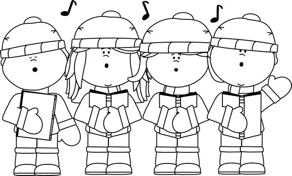 Black and White Christmas Clip Art | Clip Art-Winter ...