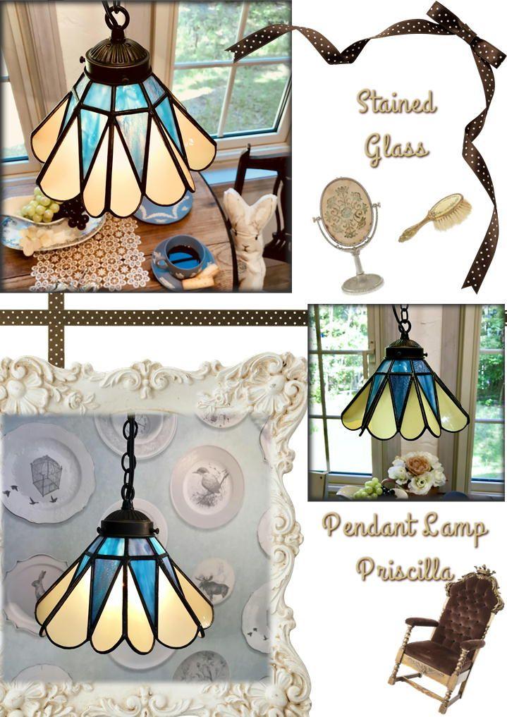 ウィッチーズキッチン の ステンドグラス 照明 ペンダントライト