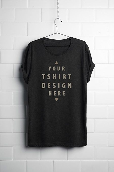 free tshirt mockup psd 43245