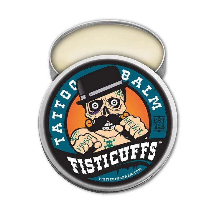 Inked Boutique - Tattoo Balm by Fisticuffs http://www.inkedboutique.com