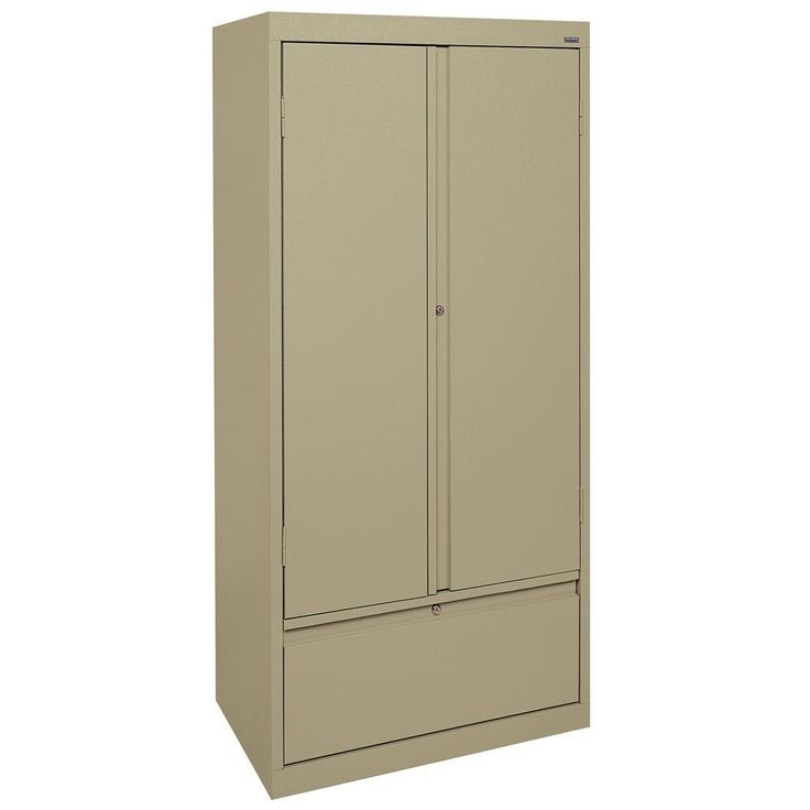Systems Series 30 in. W x 64 in. H x 18 in. D Storage Cabinet with File Drawer in