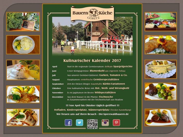kulinarischer Kalender 2017