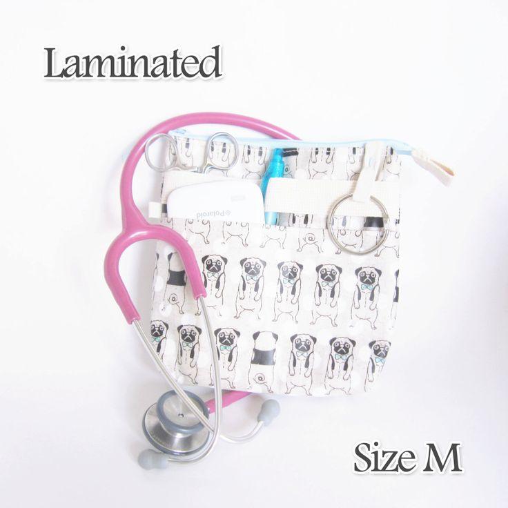 M, Zipper Laminated nurse fanny pack, Nurse Cross body, waist rn bag, Nurse bag, RN tool belt bag, Nurse gift, RN gift, veterinarian bag(Etsy のippoippoより) https://www.etsy.com/jp/listing/267256076/m-zipper-laminated-nurse-fanny-pack