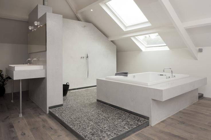 81 best images about idee n voor het huis op pinterest slaapkamerdesigns gordijn - Slaapkamer open voor badkamer ...