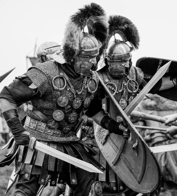 Centurions of LEGIO XIII Ariminum on Hadrian's Wall