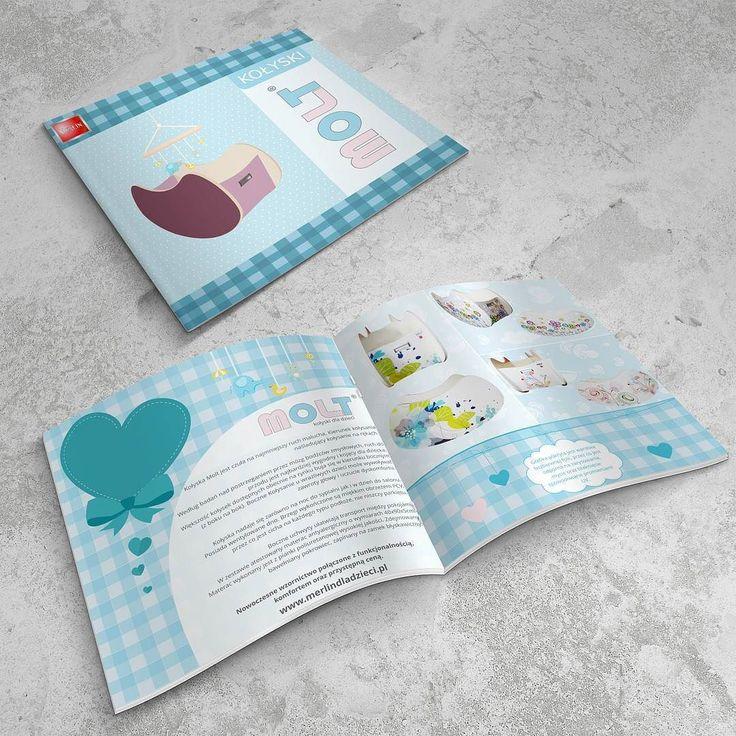 Projekt graficzny katalogu z kołyskami Molt #projektgraficzny #graphicdesign #katalog #catalogue #molt #kolyska #kielce #mgraphics #buskozdroj #nadajemyksztaltypomyslom www.mgraphics.eu
