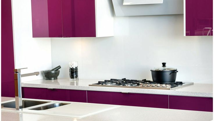 Our Craftsmen range of kitchens features cutting edge finishes.