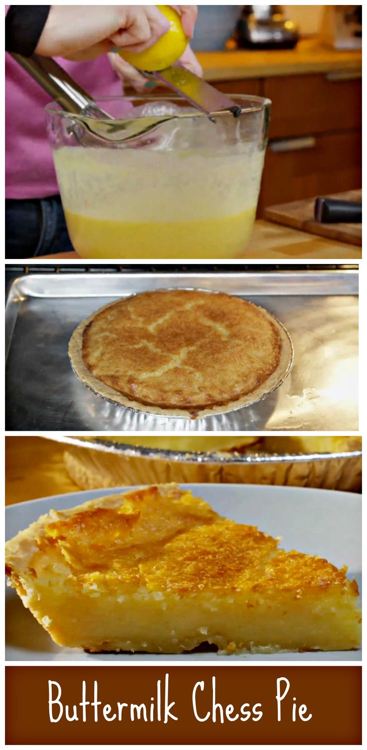 Old Fashioned Buttermilk Chess Pie. http://www.ifood.tv/recipe/old-fashioned-buttermilk-chess-pie