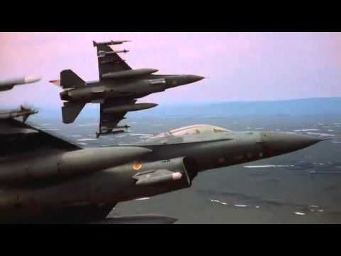 Amazing Jet Fighter Pilot Training Footage-Showcasing the power and beauty of our modern day jet fighters. Fast forward to 3:30 if explosions are your thing.