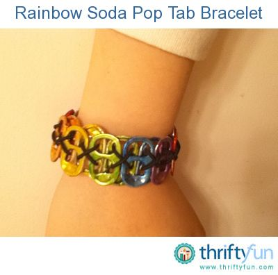 This is a guide about crafts using pop can tabs. Soda or pop can tabs are being reused in a variety of craft projects.