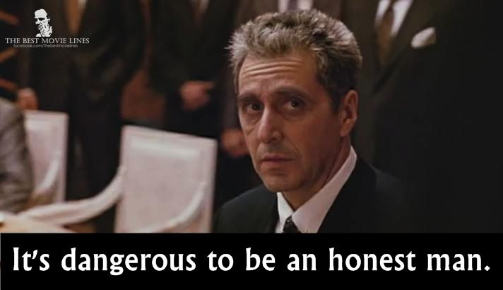 - Al Pacino in The Godfather Part 3 (1990).
