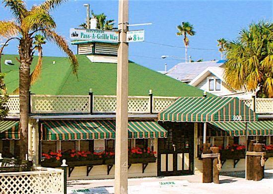 Brass Monkey Restaurant St Pete Beach Fl