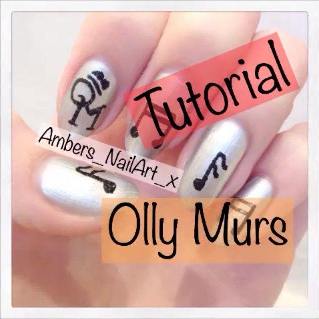 Heres a tutorial for my Olly Murs nails☺️Also i'm nearly at 3000 followersThankyou all #nails #nailart #nailprodigy#nailartoohlala #nailpromote #nails2inspire #follow #me #lookgaliv Amber xox