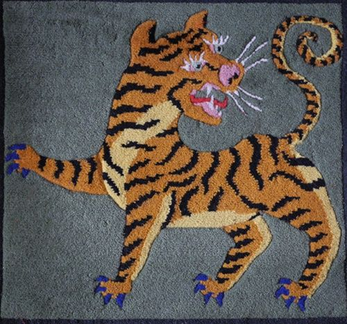 25+ Best Ideas About Tiger Rug On Pinterest