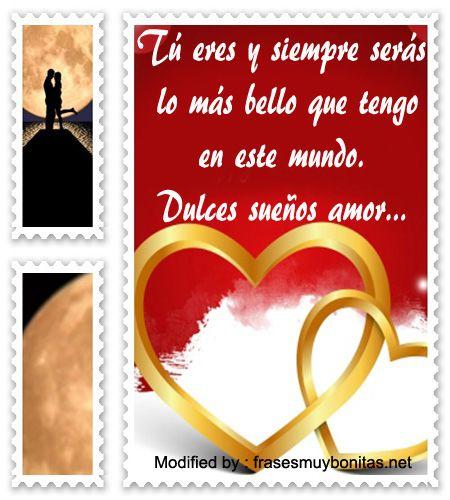 versos de buenas noches para mi amor,textos cortos de buenas noches para mi amor para Whatsapp: http://www.consejosgratis.net/lindos-mensajes-de-buenas-noches/