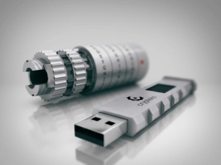 Crypteks USB flash drive