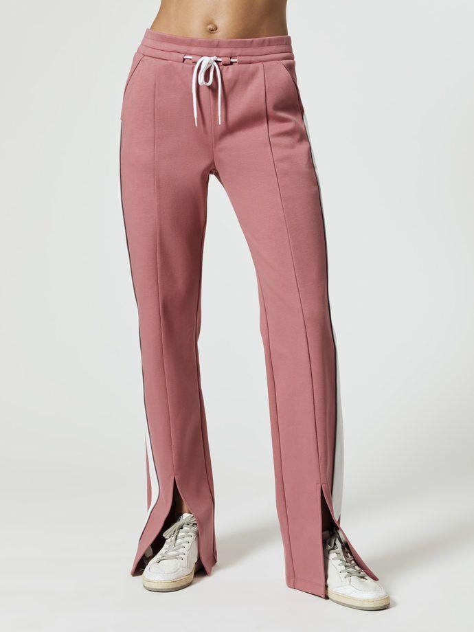 Nylora Lisbeth Pants Staubige Rosa Kombi Sweatpants Em 2020 Calca De Moletom Calca De Ginastica Roupas